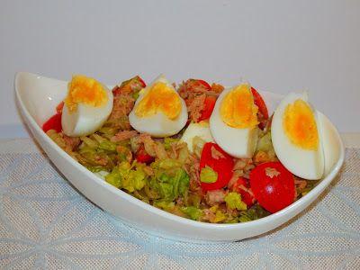 MAKE-FOOD: Těstovinový salát s tuňákem