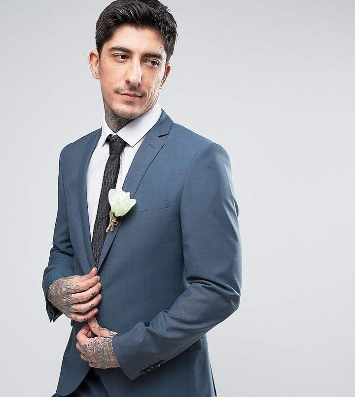 Heart & Dagger Skinny Summer Wedding Suit Jacket #summer #menswear #weddingdress #suitjacket