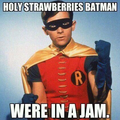Holy Strawberries Batman!