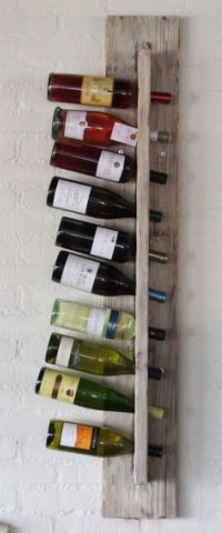 Love these wine-holders @Restaurant Havenrijk
