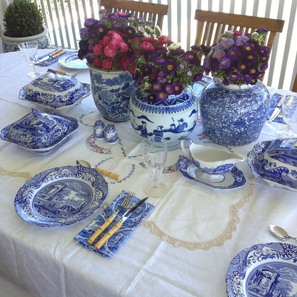 Perfect weather today.... For a very special family lunch.