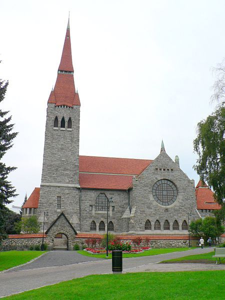 Tampere cathedral, architect Lars Sonck