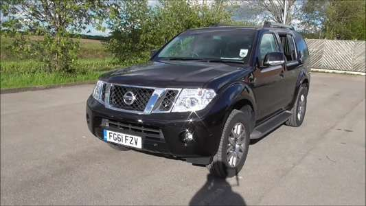 Used 2011 (61 reg) Black Nissan Pathfinder 2.5 dCi Tekna 5dr Auto for sale on RAC Cars