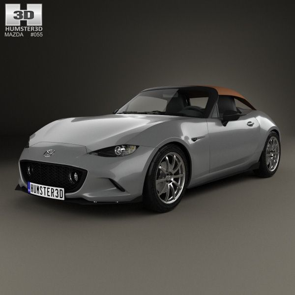 Mazda MX 5 Speedster 2015 3d Model From Humster3D.com