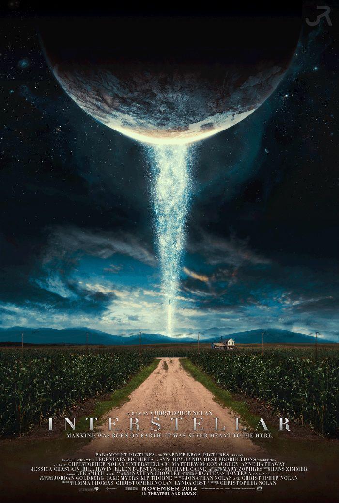 Fantastic Fan Poster For Christopher Nolan's 'Interstellar' – Starring Matthew McConaughey, Anne Hathaway, Jessica Chastain…