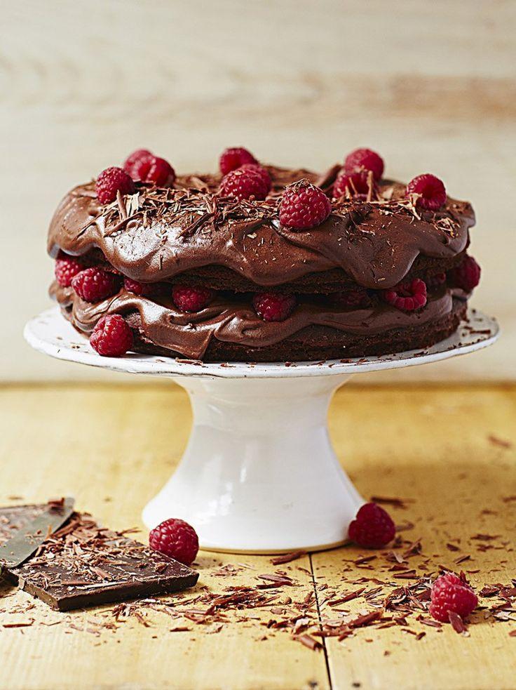 Epic vegan chocolate cake - jamie oliver - single best vegan recipe EVER