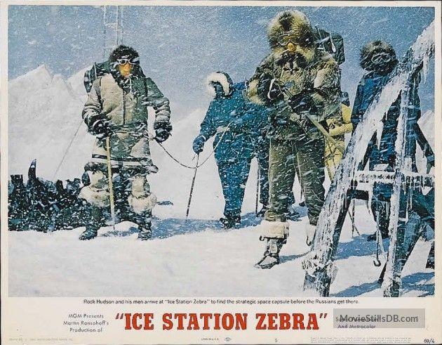 Ice Station Zebra lobby card