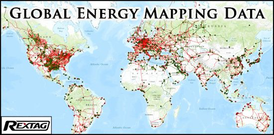 World Oil Pipelines Map