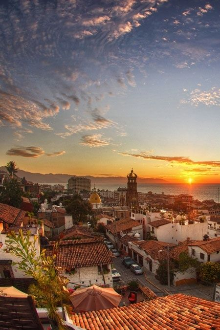 Puerto Vallarta, Mexico.I want to visit here one day.Please check out my website thanks. www.photopix.co.nz