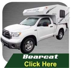 Our Cascade model is a light weight slide-in truck camper built for full size pickups or domestic and import compact trucks. With the best aerodynamics of any hard-sided camper, it is comparable to four-wheel campers pop-up.