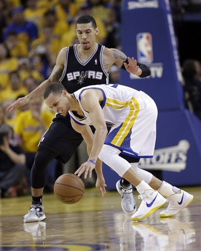 Stephen Curry injured ankle
