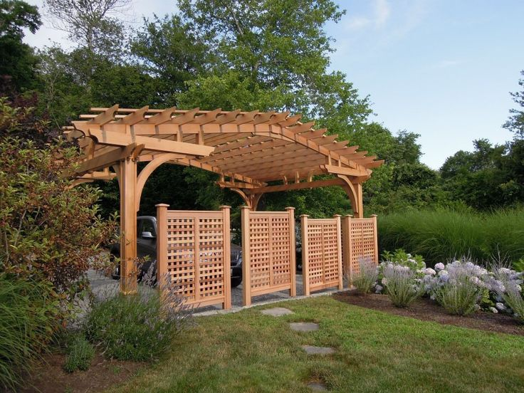 how to build lattice or trellis for creepers