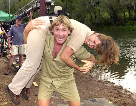 "steve irwin | Galleries: Steve Irwin and Terri-- ""He was fun.  He was fun!""   - Smash It!"