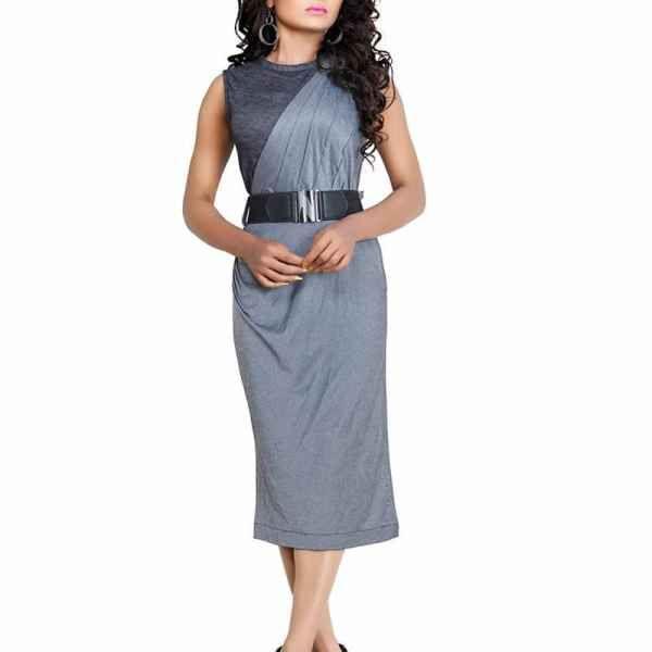 Dove Lycra Western Dress