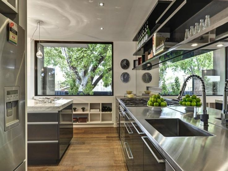 33 Best Images About Galley Kitchen Designs Layouts On Pinterest