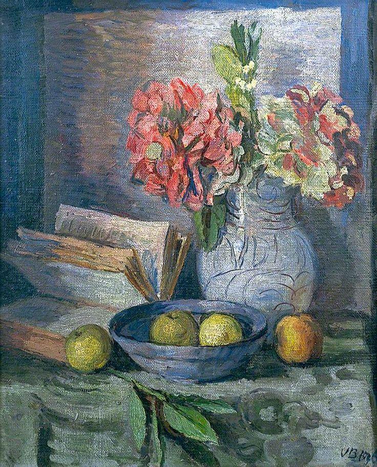 Hydrangeas by Vanessa Bell  1946. #reading #books #art