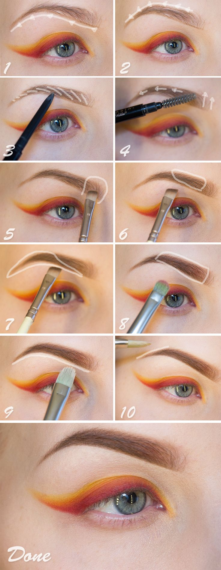 I love this tutorial, one of the best!  Tutorial – Eyebrows - Sandra Holmbom