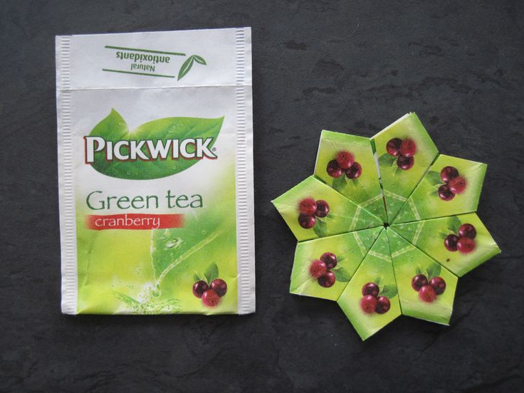 Pickwick theezakjes Green Tea Cranberry