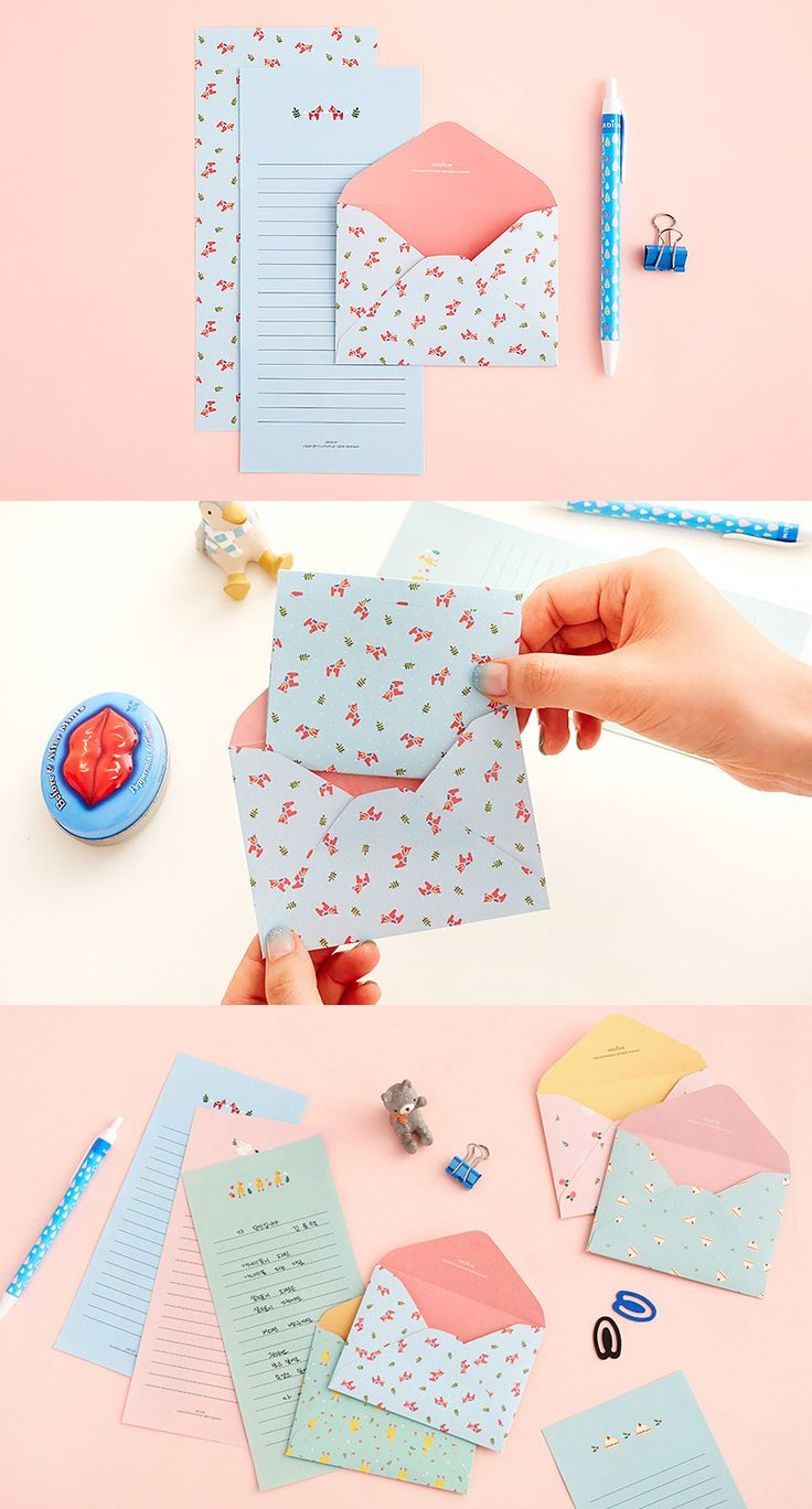 Have you received a letter from anyone lately? Wouldn't you like to? Here's a fun & cute way to show someone you are thinking about them!