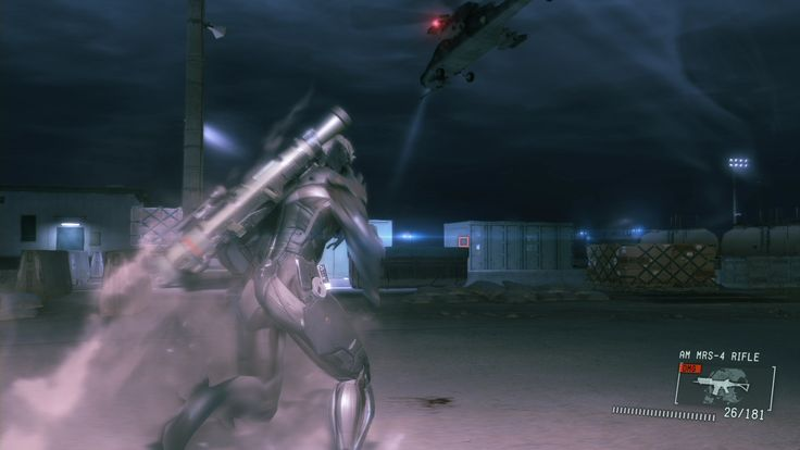 Metal Gear Solid V Ground Zeroes Game Screenshots