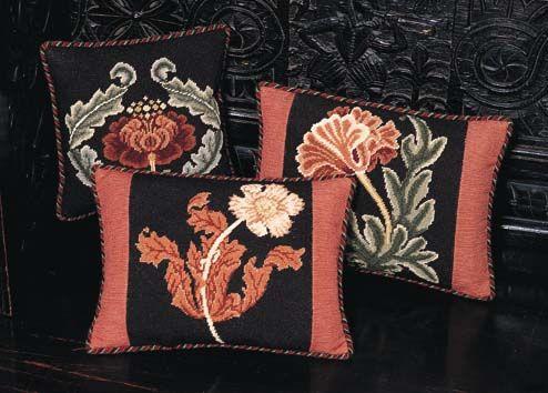 Beth Russell Needlepoint - William Morris Miniatures