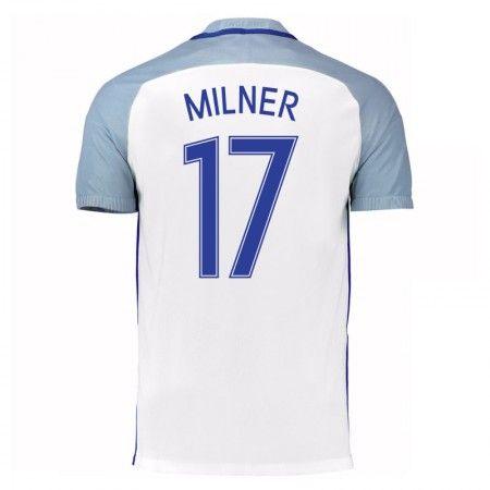 England 2016 James Milner 17 Hjemmedrakt Kortermet.  http://www.fotballpanett.com/england-2016-james-milner-17-hjemmedrakt-kortermet-1.  #fotballdrakter