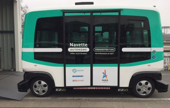 Paris 2024 Hails Mobility Partner RATP For First Driverless Electric Buses