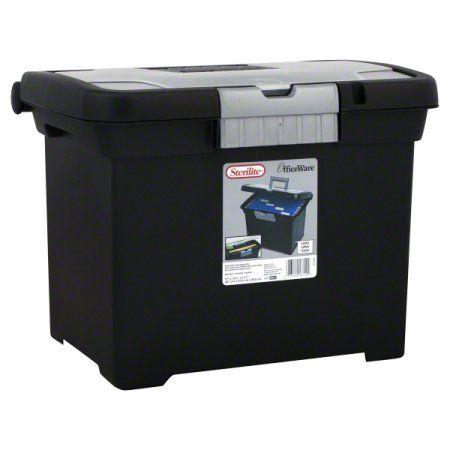 Office Supplies Sterilite File Box Custom Organizers