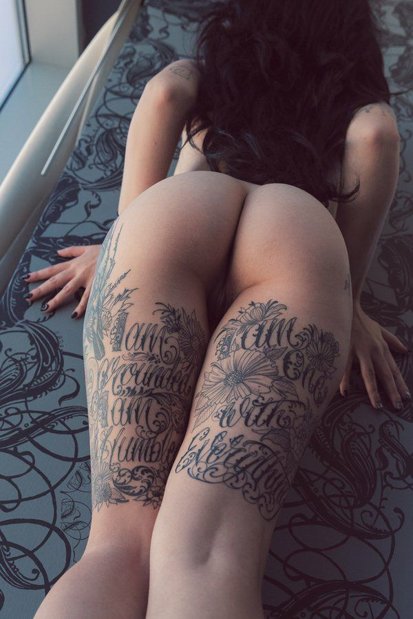 Confirm. agree Naked women ass tattoos like this