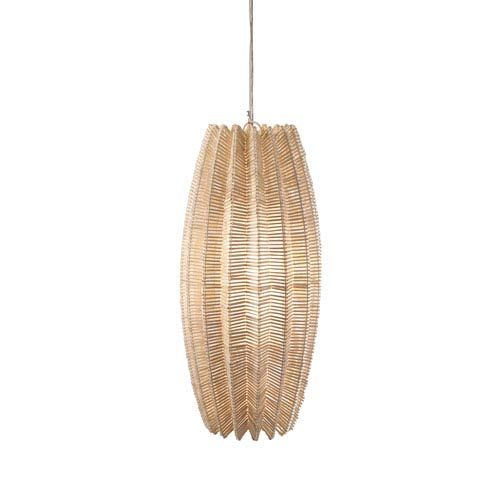Kalalou Metal Cylinder One Light Pendant Light On SALE