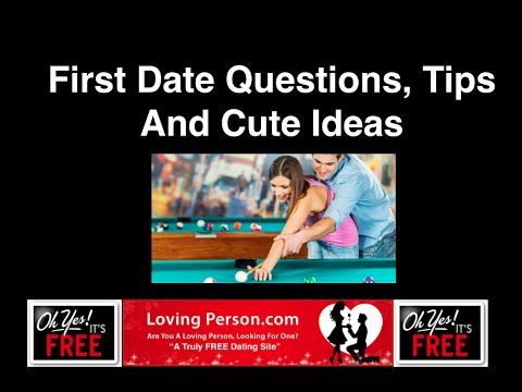 """dating first questions Not all guys know what questions to ask a girl when online dating  for  something cheesy and playful like """"do you believe in love at first site."""