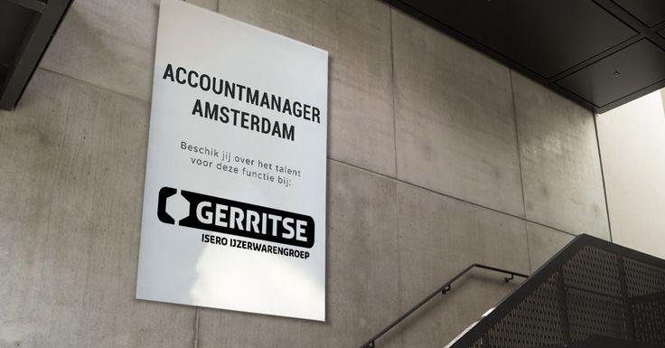 Weet jij als Accountmanager het marktaandeel van Gerritse IJzerwaren in de regio Amsterdam te vergroten?        Solliciteer via de website: https://www.wetalent.nl/recruit/vacatures/gerritse-ijzerwaren/accountmanager-amsterdam/279/       #accountmanager #amsterdam #noordholland #buitendienst