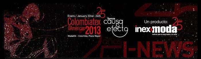 Con US$ 152,5 millones en oportunidades de negocios concluyó Colombiatex de las Américas 2013