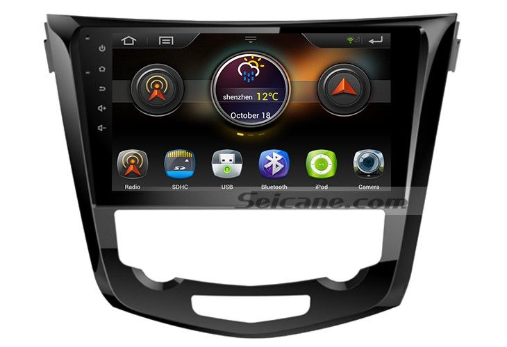 10.1 inch 2014 Nissan QashQai X-Trail Radio Bluetooth Aftermarket OEM GPS System 3G WiFi TV Mirror Link Canbus USB SD Auto A/V Backup Camera IPOD IPhone