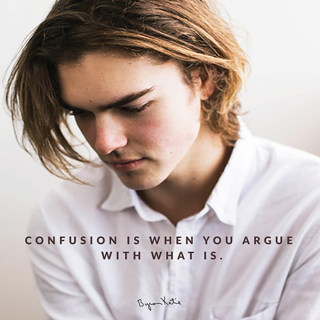 Byron Katie on Confusion