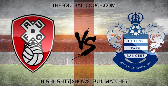 [Video] Championship Rotherham United vs Queens Park Rangers Highlights - http://thefootballcouch.com/rotherham-united-vs-queens-park-rangers-highlights/ - #RotherhamUnited #QueensParkRangers #championship  #soccerhighlights #footballhighlights # football #soccer #futbol #futebol #fussball #englishfootball