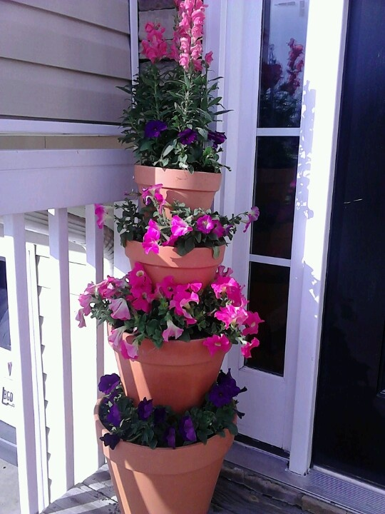 22 Best Stacking Planters Images On Pinterest Outdoor 400 x 300