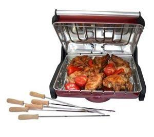 Приготовьте шашлык,  курицу гриль или пожарить рыбу не составит труда если есть электрошашлычница   для дома баров и ресторанов http://zacaz.ru/products/dom-byt-kuhnya/kuhonnye-elektrotovary/domashnyaya-elektro-shashlychnica-gril-barbekyu