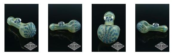 Mile High Glass Pipes sells retail glass pipes, glass hand pipes, spoon pipes, bowls, and many other types of pyrex glass pipes. We stock a huge variety of different styles, and finishes of retail glass hand pipes. Whether you need a small travel glass piece, or something more substantial for everyday home use.