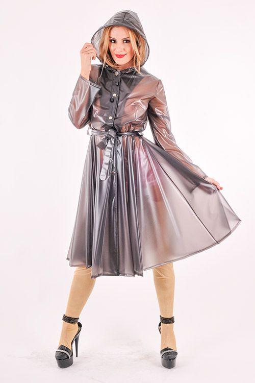 189 besten pvc raincoats regenm ntel bilder auf pinterest. Black Bedroom Furniture Sets. Home Design Ideas