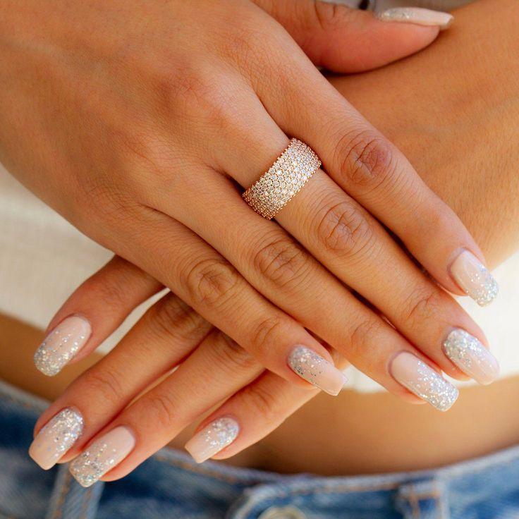 Nail French Tip Gray #coffinnails #nails #longnails   Long acrylic nails, Best acrylic nails