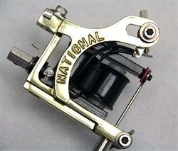 National Tattoo Supply Brass Mako Tattoo Machine Head - Quality Made in the USA