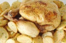 Poulet cuit a basse temperature
