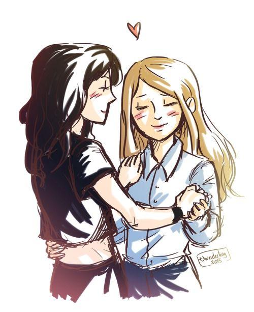 Lesbian Fanart 23