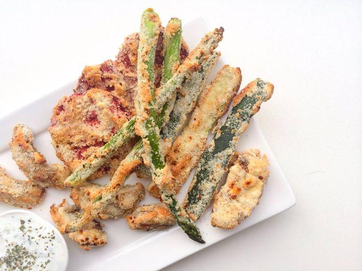 Gezonde groente tempura met een twist
