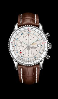 Navitimer World - Breitling - Instruments for Professionals I have this with a…
