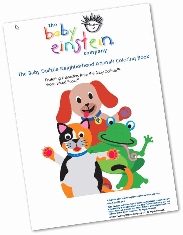 Baby Einstein Coloring Books Beautiful The Baby Einstein Coloring Books Duathlongijon Coloring Blog Coloring Books Baby Einstein Einstein