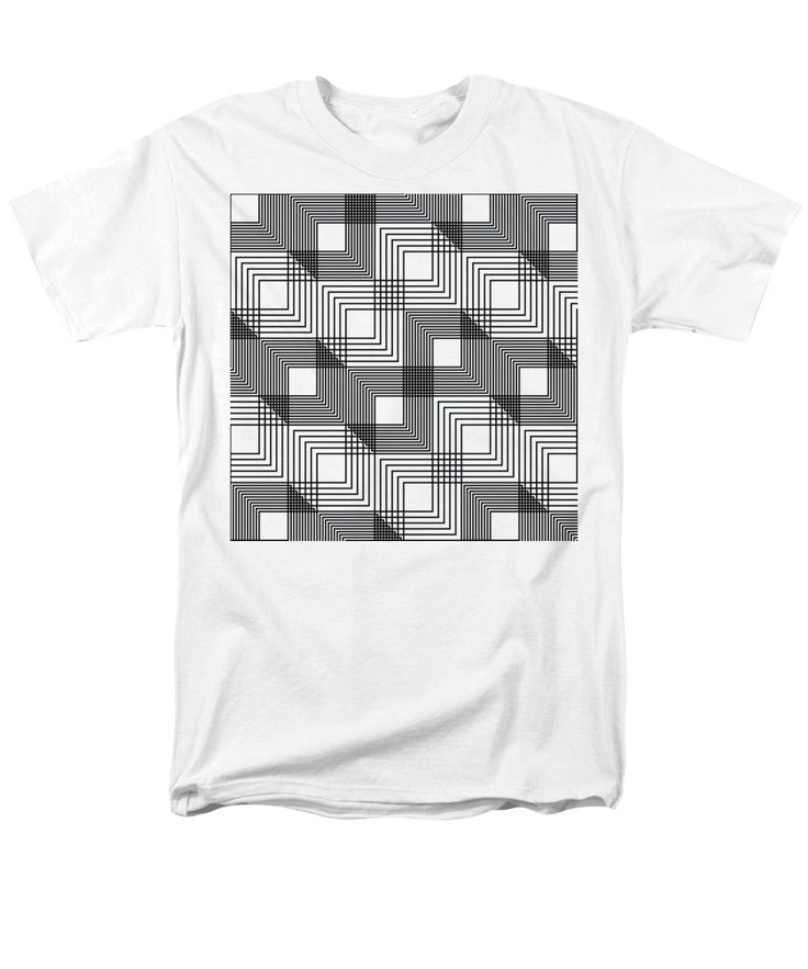 Purchase an adult t-shirt featuring the image of Stacked Cubes Illusion by Stuart McWilliam.  Available in sizes S - 4XL.  Each t-shirt is printed on-demand, ships within 1 - 2 business days, and comes with a 30-day money-back guarantee.