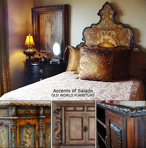 old world,tuscan,mediterranean decor | Old World Furniture and Decorating Accessories for the Old World Style ...