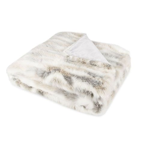 Two-tone Fur Blanket | ZARA HOME Danmark